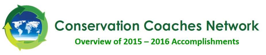 2015-16 CCNet accomplishments