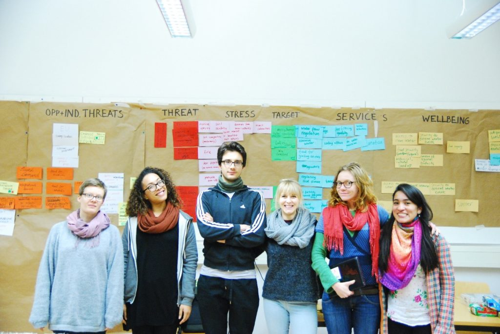 Students from the first OS course at Technical University Berlin in 2015. Photo: Marion Tiemann
