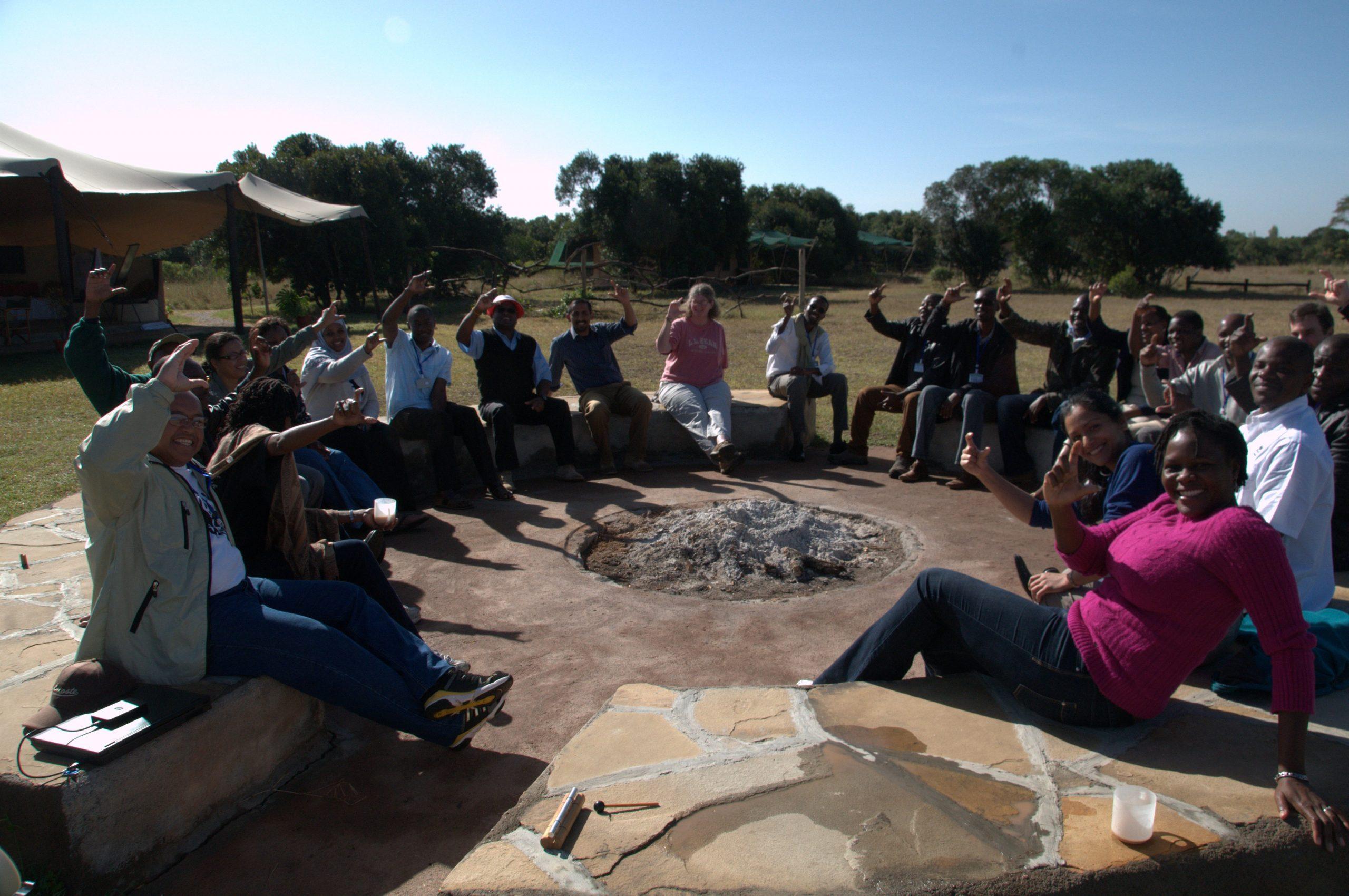 2013 Kenya coach training group photo
