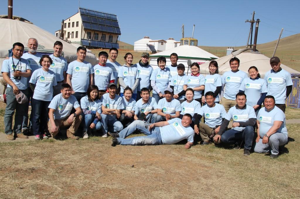 2015 May Mongolia Coach Training Khustai National Park