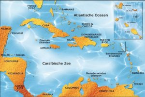 St. Eustatius is located in the Dutch Caribbean.