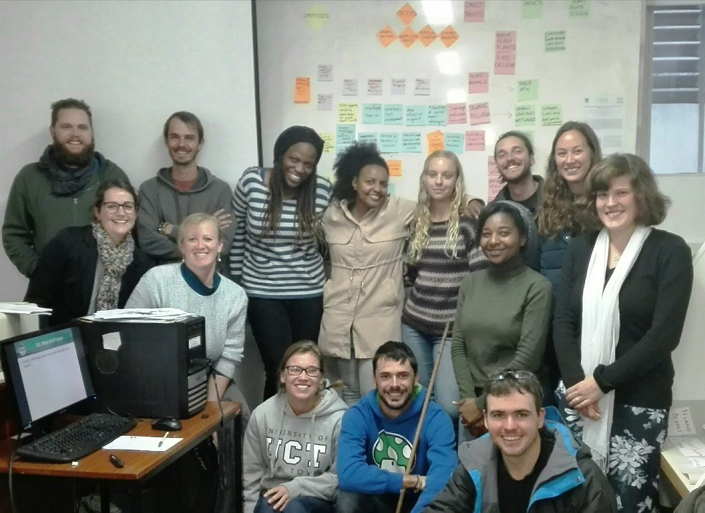 South Africa_UCT CB MSc students 2016