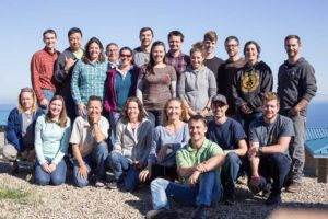 Photo of NaturePlan Open Standards workshop participants on San Clemente Island.