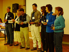 2010 service award recipients